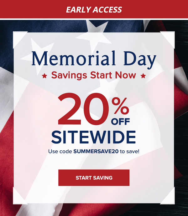 Memorial Day Sale | Early Access