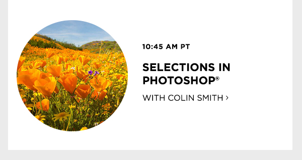 Selections In Photoshop with Colin Smith