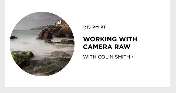 Working With Camera Raw with Colin Smith