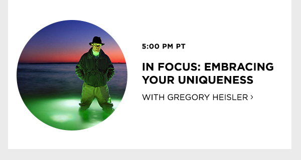 In Focus: Embracing Your Uniqueness with Gregory Heisler