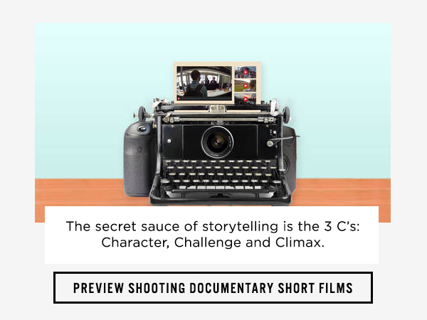 Preview shooting documentary short films