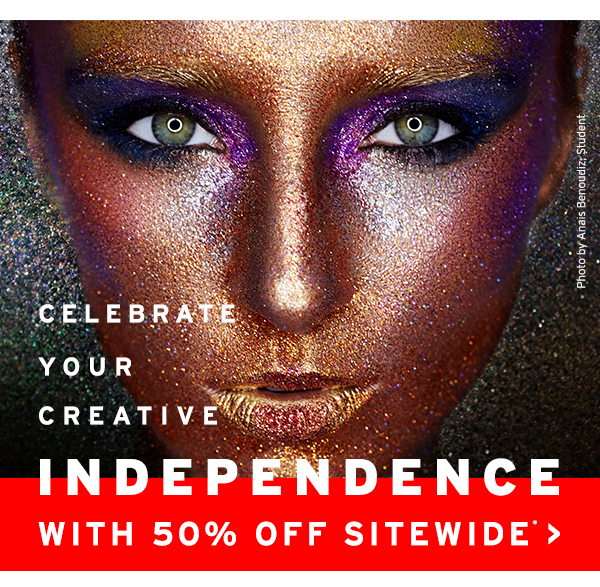 Celebrate Your Creative Independence with 50% off Sitewide!