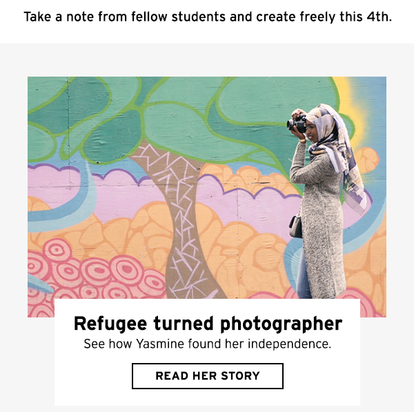 Refugee turned photographer - read her story