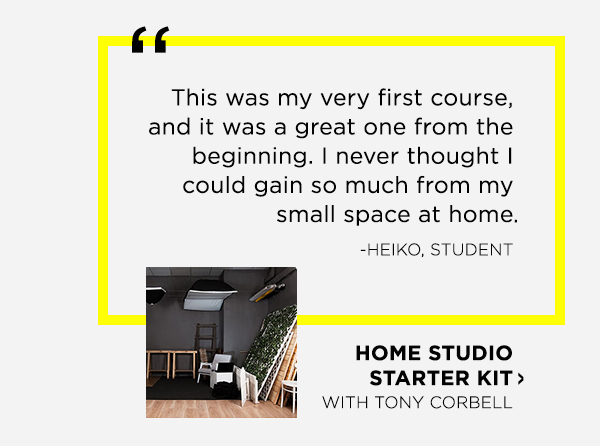 Home Studio Starter Kit with Tony Corbell