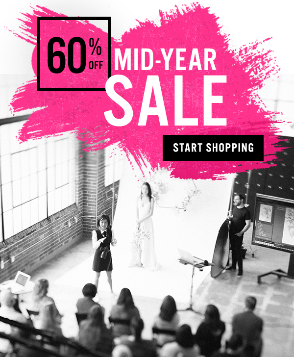 60% off mid-year sale