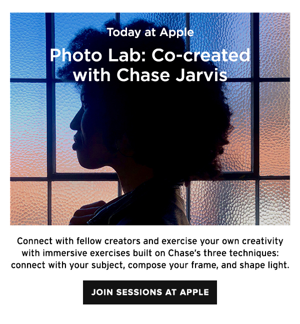 Photo Lab: Co-Created with Chase Jarvis