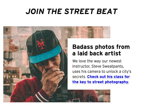 Badass photos from a laid back artist