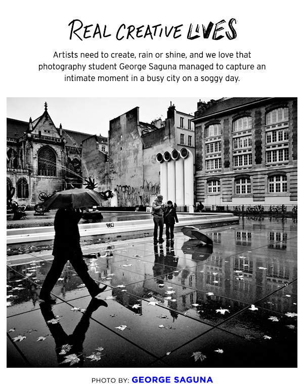 Real Creative Lives - George Saguna