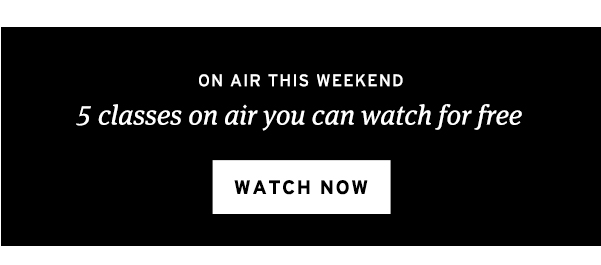 5 classes on air you can watch for free