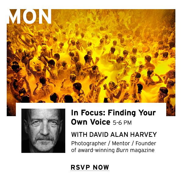In Focus: Finding Your Own Voice with David Alan Harvey