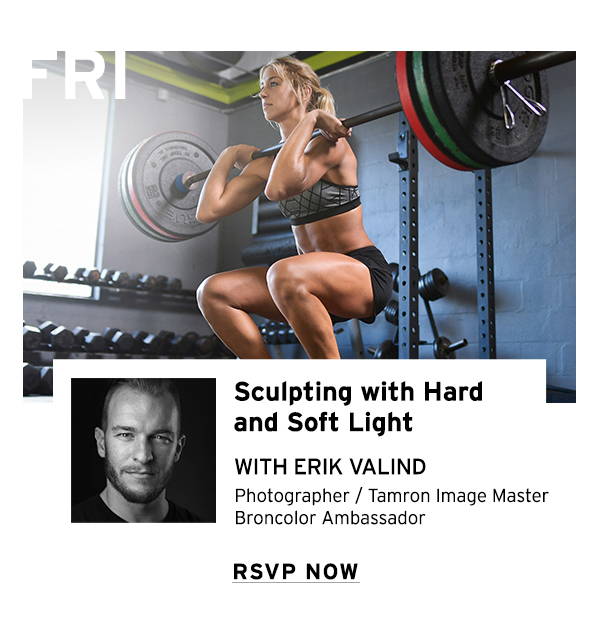 Sculpting with Hard and Soft Light with Erik Valind