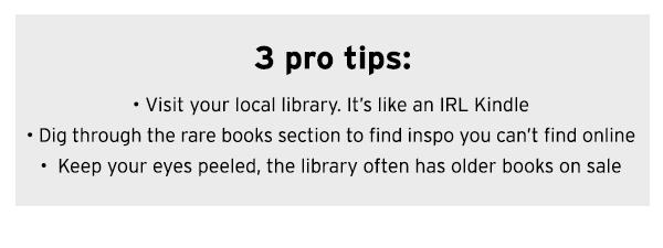3 pro tips