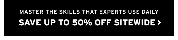 Save up to 50% sitewide