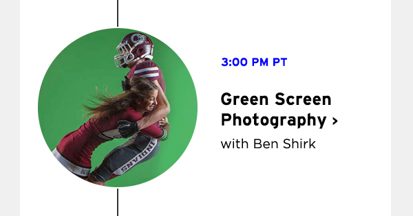 Green Screen Photography with Ben Shirk