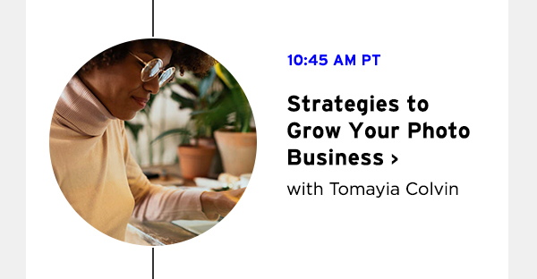 Strategies to Grow Your Photo Business with Tomayia Colvin
