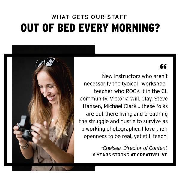 What gets our staff out of bed every morning?