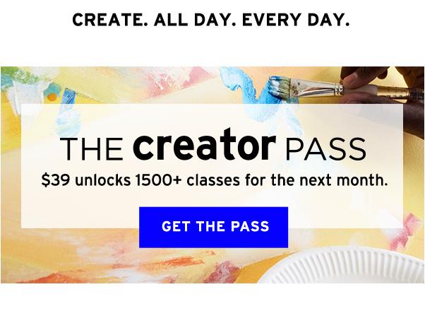 The Creator Pass
