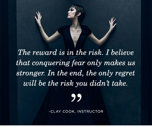 Quote by instructor Clay Cook