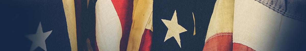 Cloth American Flag